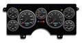 New Vintage Black Performance II Series 1982-89 Buick Regal GN Gauge Kit - 82211-01