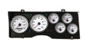 New Vintage White Performance Series 1978-81 Chevy G-Body Gauge Kit (Prog Speedo) - 78111-03