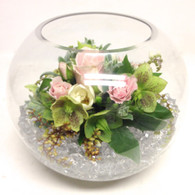 Glass Bowl Vase