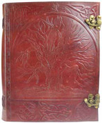 Tree  Leather Journal w/ Latch