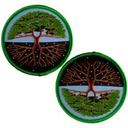 """Tree of Life Iron-on Patch 3"""""""
