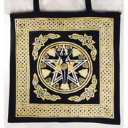 Pentagram Goddess Tote Bag
