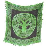 "Tree of Life Altar Cloth 18"" x 18"""