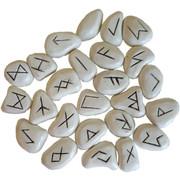 White Resin Rune Set