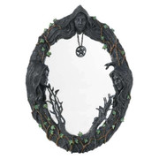 "Maiden, Mother, Crone Wall Mirror 17"""