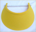 Canary Yellow Jumbo Peak Flexi Visor
