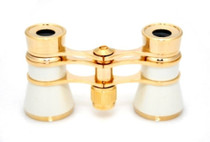 Opera Glasses- Traditional White