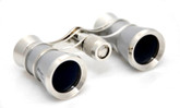 Opera Glasses- Traditional Platinum &amp; Silver