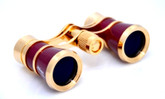 Opera Glasses- Traditional Burgundy