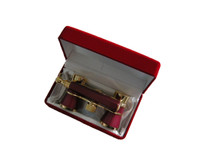 Red Velvet Opera Glasses Gift Box / Case