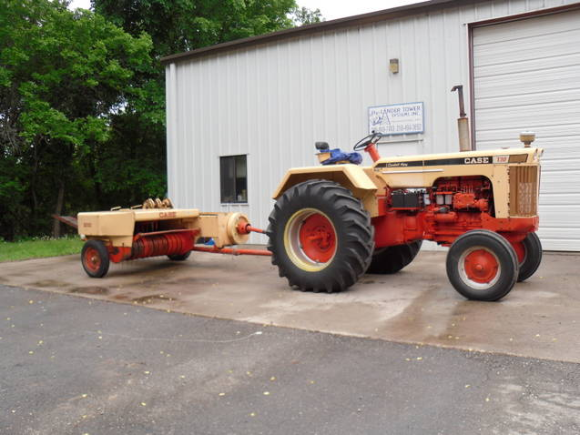 1969 730 Case Western with baler