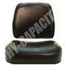 ER- S118582 Black Vinyl Seat Cushion Set