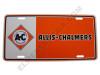 AC003-LP  Allis Chalmers License Plate