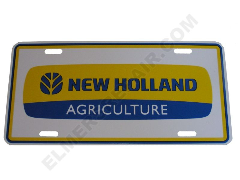 New Holland Ledger Plate : New holland logo license plate pictures to pin on
