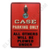 CA006PARK Case Eagle Parking Sign