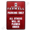 FA001PARK   Farmall Parking Sign