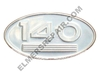 ER- 369084R1  Farmall 140 Oval Side Emblem