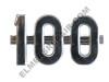 Farmall 100 Side Emblem