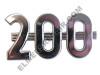Farmall 200 Side Emblem