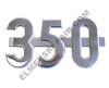 ER- 366679R1 Farmall 350 Side Emblem