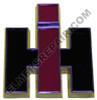 ER- 368523R4 Die-Cast IH Front Hood Emblem