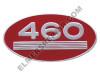 ER- 369119R1 460 Gas Oval Side Emblem