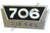 ER- 381555R1 706 Diesel Side Emblem