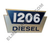 ER- 2752935R1 IH 1206 Diesel Side Emblem