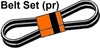 ER- 90-3861T1  Fan Belt Set (1 Pair)