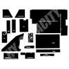 ER- C88 Cab Interior Kit without Headliner - Black
