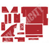 ER- C88R Cab Interior Kit without Headliner - Red