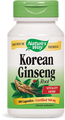 Korean Ginseng Root. 100 Capsules by Nature's Way