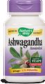 Ashwagandha Standardized 60 Veg Capsules by Nature's Way