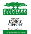 Amazon Energy Support 120 Capsules by Raintree
