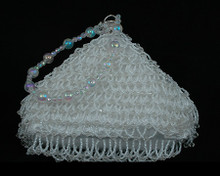 White Pearl Bridal Purse