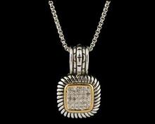 Designer Two Tone Dazzle Necklace