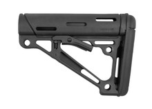 Hogue OverMolded Collapsible Buttstock Black Rubber Milspec