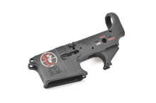 Spikes Tactical Zombie Lower Receiver Color Filled - Stripped