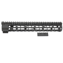 Midwest Industries SS Key-Mod Series One Piece Free Float Handguard 12-inch Rifle - Black