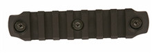 "BCM Gunfighter KeyMod 4"" Nylon Rail Section - Black"