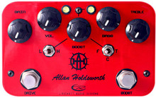 Rockett Pedals Allan Holdsworth Signature Overdrive & Boost Pedal