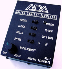 ADA GCS-2 Guitar Cabinet Simulator & DI Box