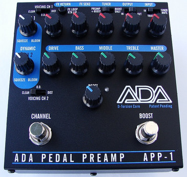 ADA produced guitar pedal pre-amp for overdrive and distortion ...
