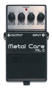 BOSS ML2 Metal Core Guitar Pedal