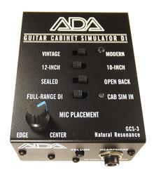 ADA GCS-3 Guitar Cabinet Simulator & DI Boxes