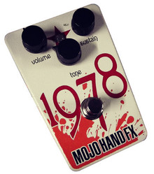 Mojo Hand FX 1978 Overdrive Fuzz Guitar Pedal