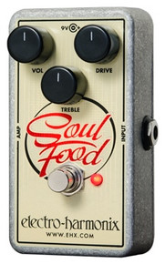 Electro-Harmonix Soul Food Distortion/Fuzz/Overdrive Guitar Pedal