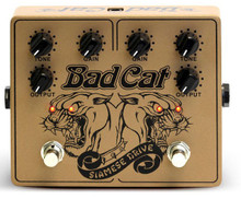 Bad Cat Siamese Guitar Pedal Overdrive 1+1=3