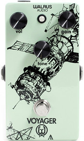 Voyager Overdrive Guitar Pedal by Walrus