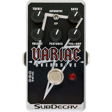 Subdecay Variac Overdrive Guitar Pedal
